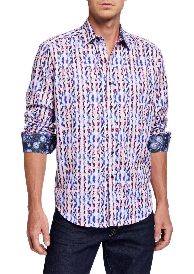 Robert Graham Men's Bent Creek Long Sleeve Sport Shirt