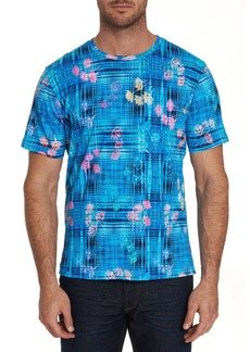 Robert Graham Men's Bentford Mixed-Print Short-Sleeve T-Shirt