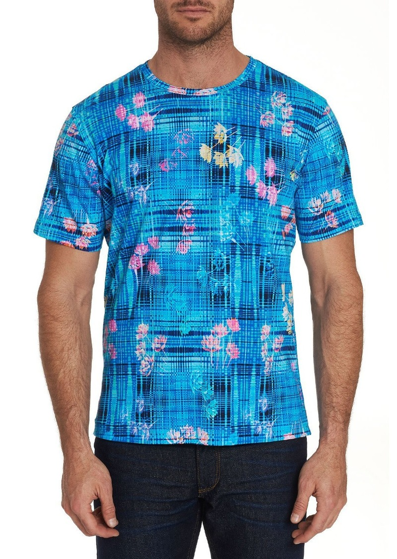 Robert Graham Men's Bentford Mixed-Print Short-Sleeve T-Shirt