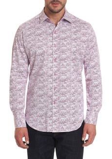 Robert Graham Men's Blurred Vision Sport Shirt