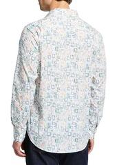 Robert Graham Men's Boxed In Long-Sleeve Sport Shirt