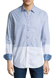 Robert Graham Men's Cano Colorblock Woven Sport Shirt