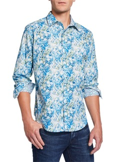 Robert Graham Men's Capouano Long-Sleeve Sport Shirt