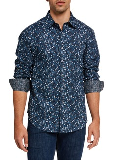 Robert Graham Men's Chalmers Patterned Sport Shirt