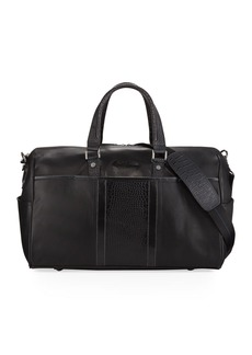 Robert Graham Men's Chatsworth Embossed Leather Weekender Bag