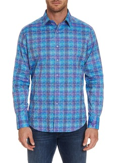 Robert Graham Men's Cirillo Graphic Sport Shirt