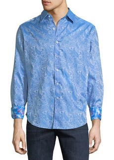 Robert Graham Men's Classic-Fit Abalone Way Sport Shirt