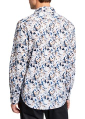 Robert Graham Men's Classic-Fit Abrell Watercolor Ring Long-Sleeve Sport Shirt