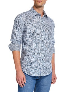 Robert Graham Men's Classic-Fit Acacia Printed Sport Shirt
