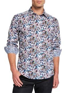 Robert Graham Men's Classic-Fit Alco Long-Sleeve Sport Shirt