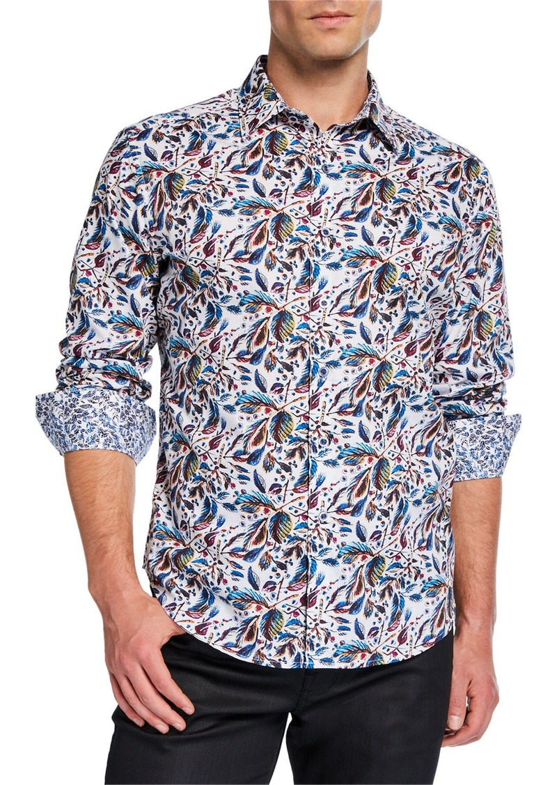 Robert Graham Men's Classic-Fit Alco Long-Sleeve Sport Shirt