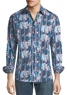 Robert Graham Men's Classic-Fit Bandlon Sport Shirt