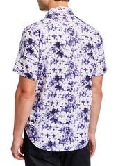 Robert Graham Men's Classic-Fit Chadesberry Printed Short-Sleeve Shirt