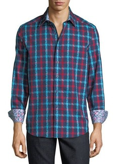Robert Graham Men's Classic-Fit Dadebrook Plaid Sport Shirt