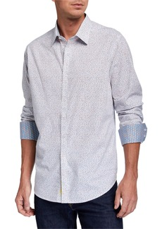 Robert Graham Men's Connect Dots Long-Sleeve Sport Shirt