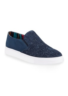 Robert Graham Men's Cormac Suede Slip-On Sneakers
