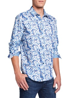 Robert Graham Men's Dellwood Long-Sleeve Sport Shirt