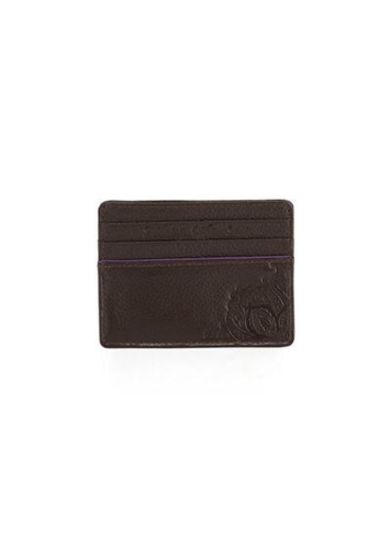 Robert Graham Men's Denham Embossed Leather Card Case