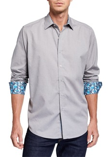 Robert Graham Men's Dorsal Long-Sleeve Sport Shirt