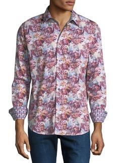 Robert Graham Men's Entertainer Woven Sport Shirt
