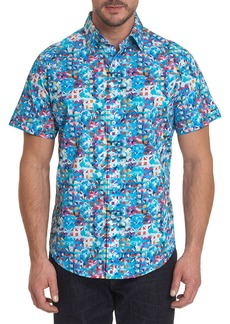 Robert Graham Men's Espinal Short-Sleeve Woven Shirt