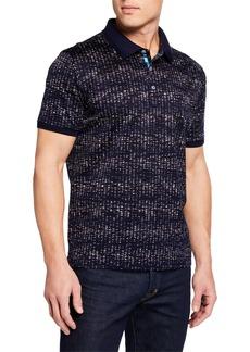 Robert Graham Men's Faraday Graphic Polo Shirt