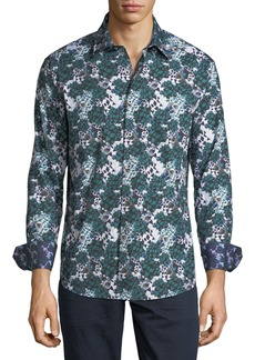 Robert Graham Men's Finchley Woven Sport Shirt