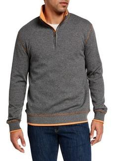 Robert Graham Men's Firth 1/4-Zip Knit Sweater