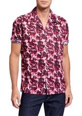 Robert Graham Men's Floral Lane Short-Sleeve Sport Shirt