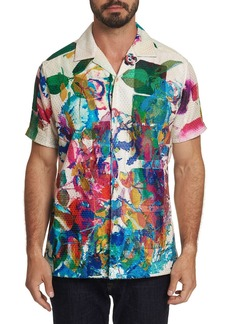 Robert Graham Men's Flower Fight Short-Sleeve Shirt