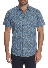 Men's Forestdale Short Sleeve Shirt Size: S by Robert Graham