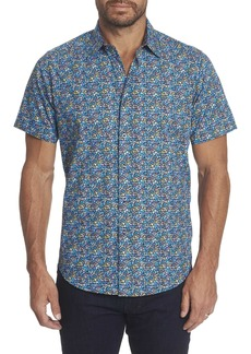 Men's Forestdale Short Sleeve Shirt Size: S by Robert Graham