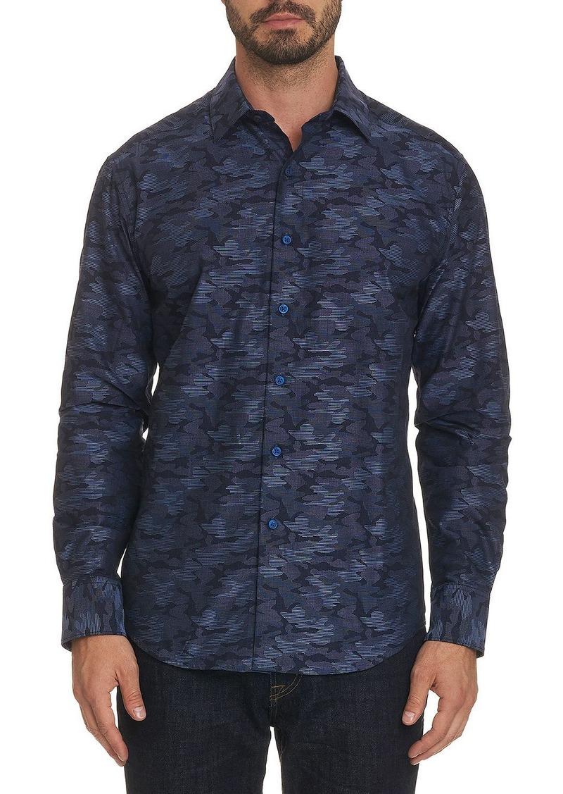 Robert Graham Men's Garian Long-Sleeve Sport Shirt