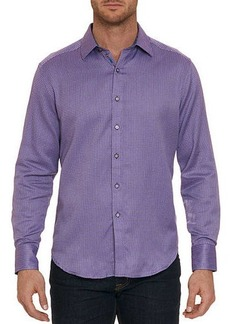 Robert Graham Men's Garvey Mini Check Sport Shirt
