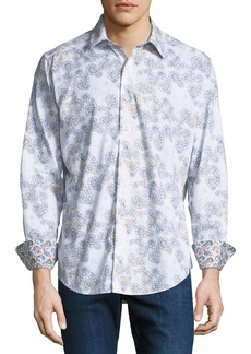 Robert Graham Men's Gordonia Woven Sport Shirt