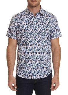 Robert Graham Men's Gould Watercolor Bubble Print Sport Shirt