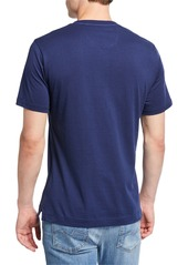 Robert Graham Men's Gunpowder Skull Cotton T-Shirt