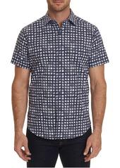 Robert Graham Men's Hedden Tile Print Sport Shirt