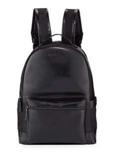 Robert Graham Men's Helio I Glossy Leather Backpack