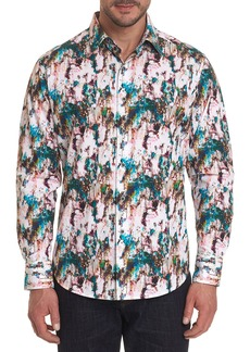 Robert Graham Men's Hidden Depths Woven Sport Shirt