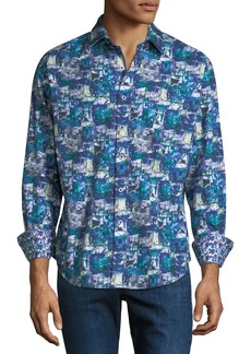 Robert Graham Men's In The Abstract Woven Sport Shirt