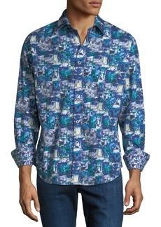 Robert Graham Men's In The Abstract Woven Sport Shirt