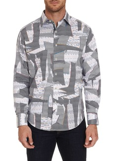 Men's Iverson Sport Shirt Size: XS by Robert Graham