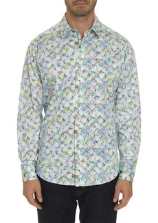 Men's Kakamas Sport Shirt Size: XS by Robert Graham
