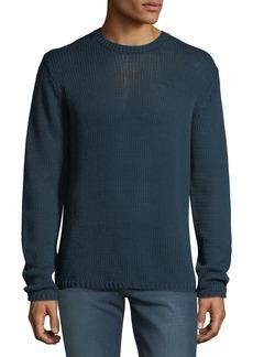 Robert Graham Men's Keratons Crewneck Cotton-Knit Sweater