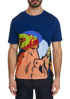 Men's Kiss off Tee Shirt Size: XS by Robert Graham