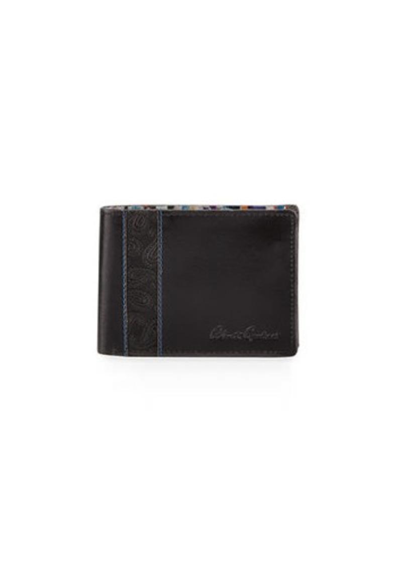 Robert Graham Men's Lagos Slim Bi-Fold Leather Wallet