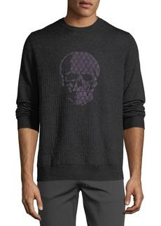 Robert Graham Men's Langley Skull Graphic Sweater