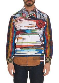 Men's Limited Edition Nachostrong Sport Shirt Size: XS by Robert Graham