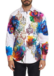 Men's Limited Edition Run For Roses Sport Shirt Size: S by Robert Graham